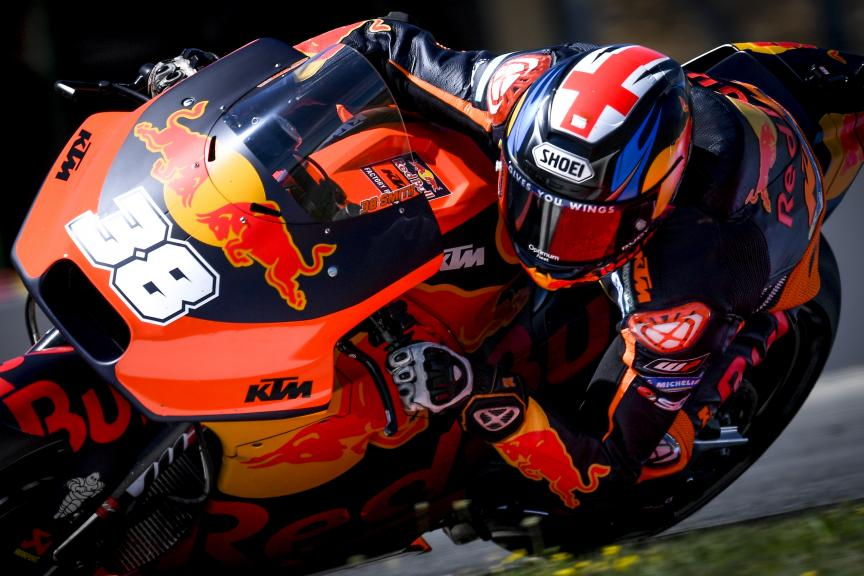 Bradley Smith, Red Bull KTM Factory Racing, Czech Republic MotoGP Official Test