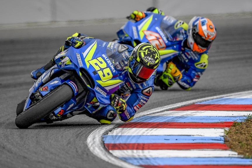 Andrea Iannone, Alex Rins, Team Suzuki Ecstar, Monster Energy Grand Prix České republiky