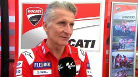 Paolo Ciabatti, Director Deportivo de Ducati, contesta a si permitirán a Lorenzo probar su nueva moto en el primer test para 2019