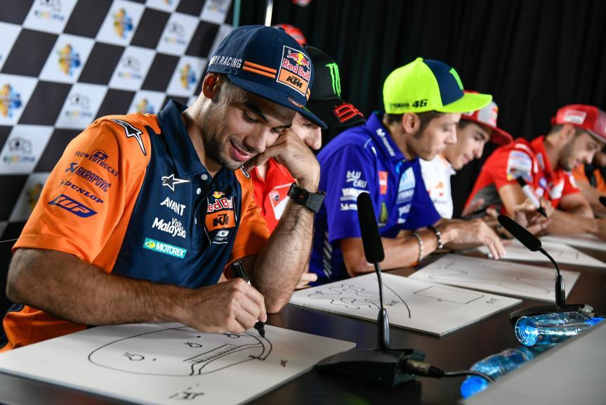 Press-Conference, eyetime Motorrad Grand Prix von Österreich
