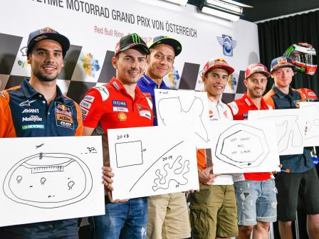 Off-Track, eyetime Motorrad Grand Prix von Österreich