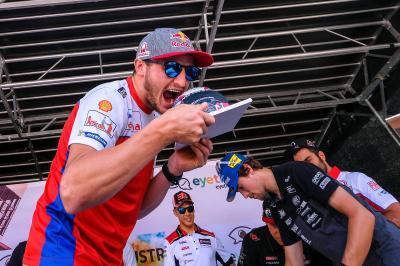 Il MotoGP™ incontra il pubblico di Graz
