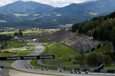 Rookies storm the Red Bull Ring