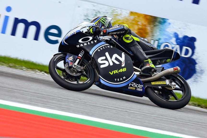 Nicolo Bulega, Sky Racing Team VR46, eyetime Motorrad Grand Prix von Österreich