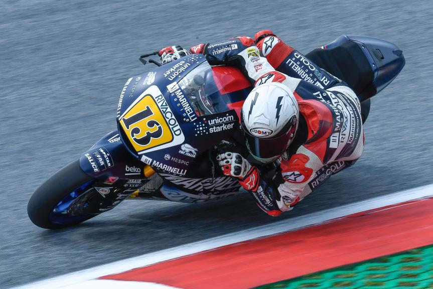 Romano Fenati, Marinelli Snipers Team, eyetime Motorrad Grand Prix von Österreich