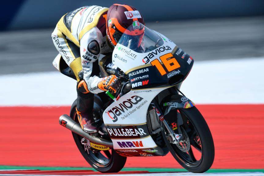Andrea Migno, Angel Nieto Team Moto3, eyetime Motorrad Grand Prix von Österreich
