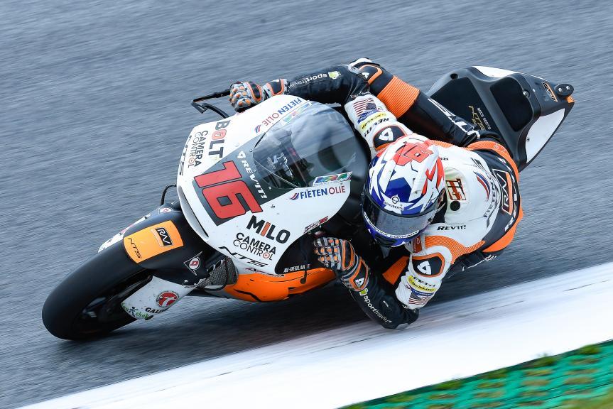 Joe Roberts, NTS RW Racing GP, eyetime Motorrad Grand Prix von Österreich