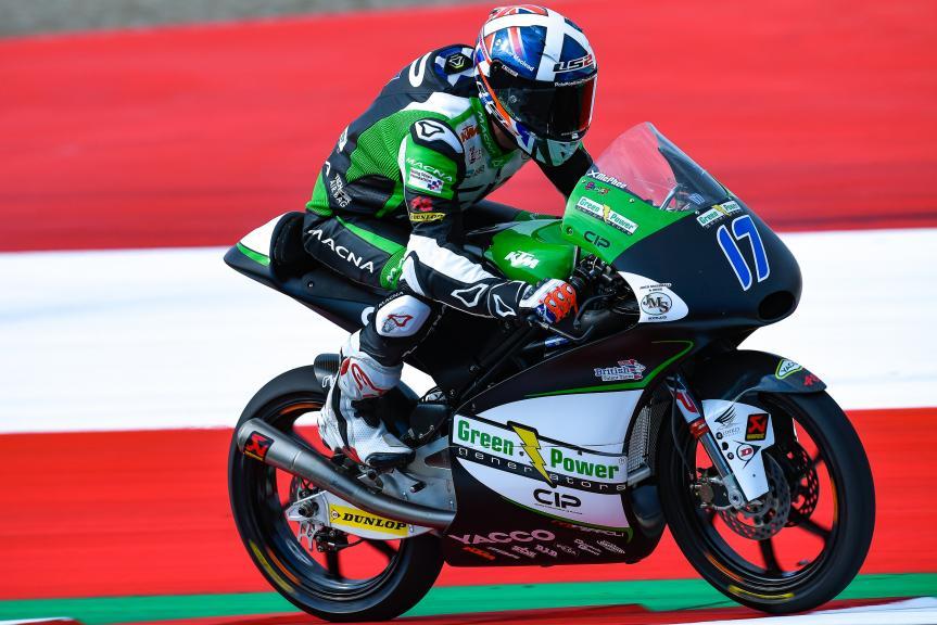 John Mcphee, CIP - Green Power, eyetime Motorrad Grand Prix von Österreich