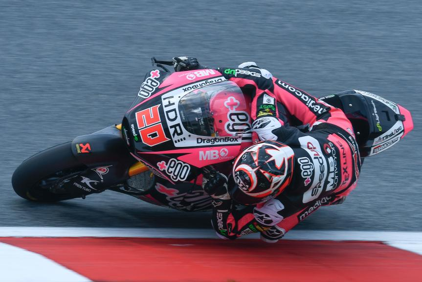 Fabio Quartararo, HDR-Speed Up Racing, eyetime Motorrad Grand Prix von Österreich