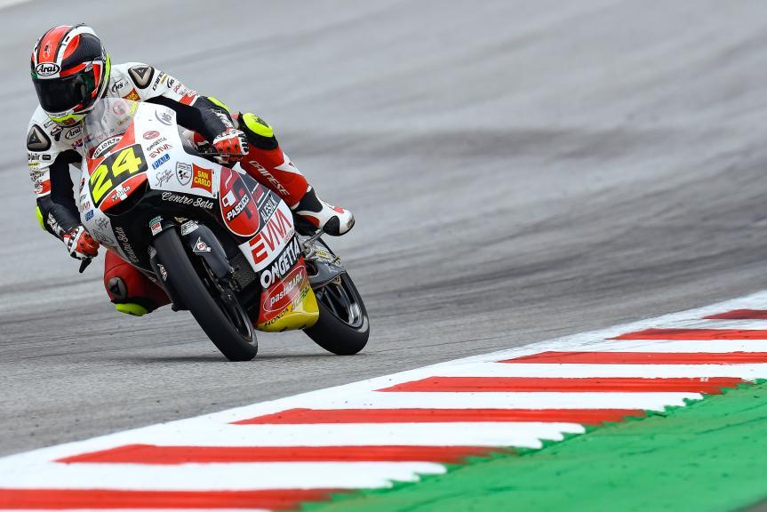 Tatsuki Suzuki, SIC58 Squadra Corse, eyetime Motorrad Grand Prix von Österreich