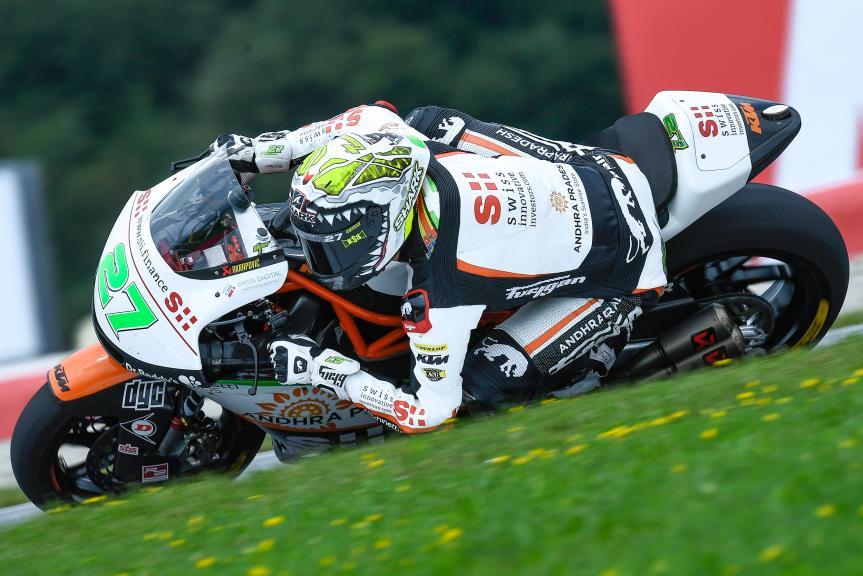 Iker Lecuona, Swiss Innovative Investors, eyetime Motorrad Grand Prix von Österreich