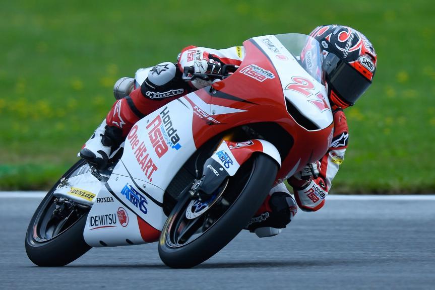 Kaito Toba, Honda Team Asia, eyetime Motorrad Grand Prix von Österreich