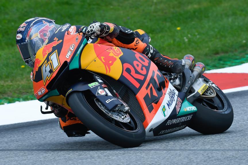Brad Binder, Red Bull KTM Ajo, eyetime Motorrad Grand Prix von Österreich