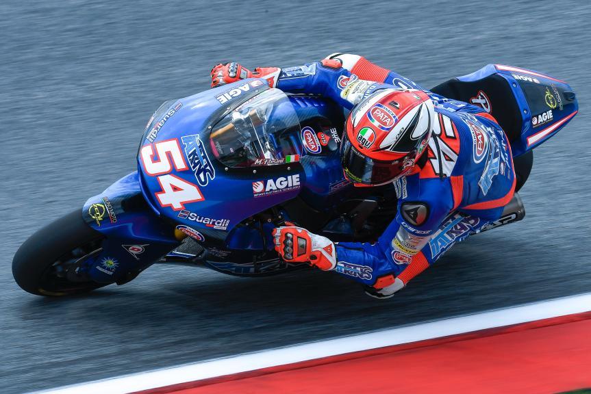Mattia Pasini, Italtrans Racing Team, eyetime Motorrad Grand Prix von Österreich