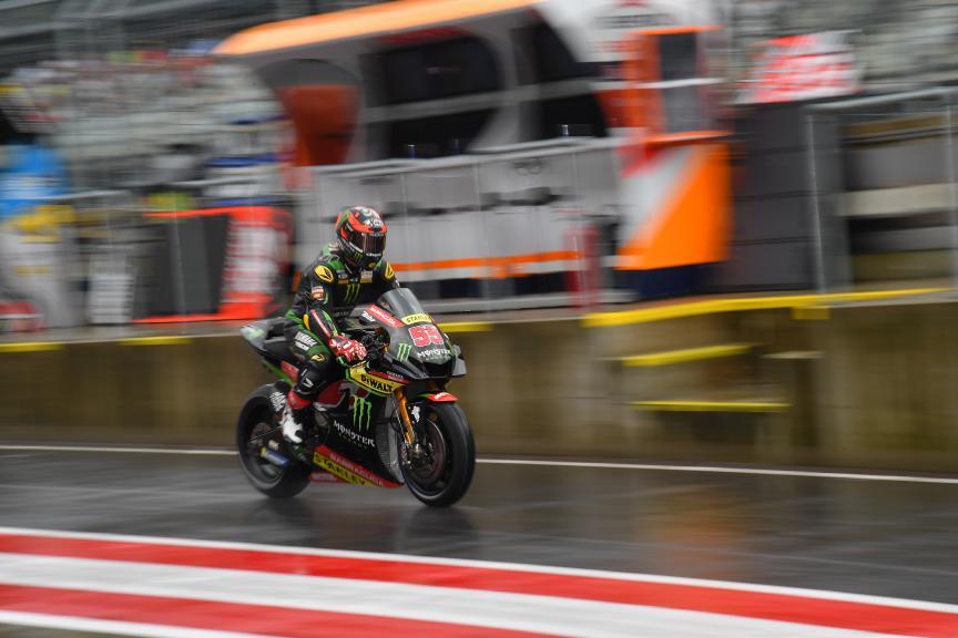 Hafizh Syahrin, Monster Yamaha Tech 3, eyetime Motorrad Grand Prix von Österreich