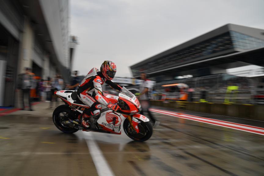 Takaaki Nakagami, LCR Honda Idemitsu, eyetime Motorrad Grand Prix von Österreich