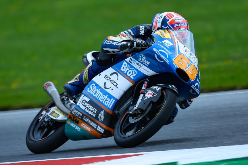 Philipp Oettl, Sudmetal Schedl GP Racing, eyetime Motorrad Grand Prix von Österreich
