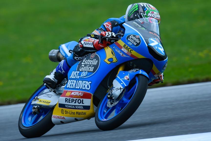 Alonso Lopez, Estrella Galicia 0,0, eyetime Motorrad Grand Prix von Österreich