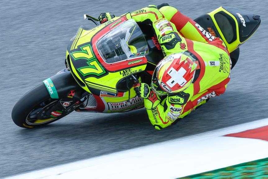 Dominique Aegerter, Kiefer Racing, eyetime Motorrad Grand Prix von Österreich