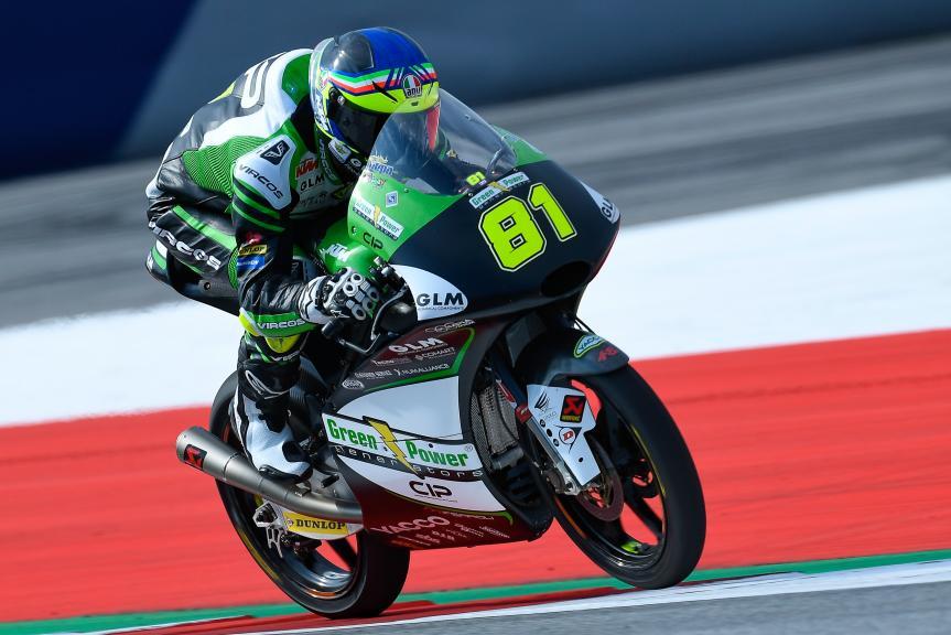 Stefano Nepa,  CIP - Green Power, eyetime Motorrad Grand Prix von Österreich