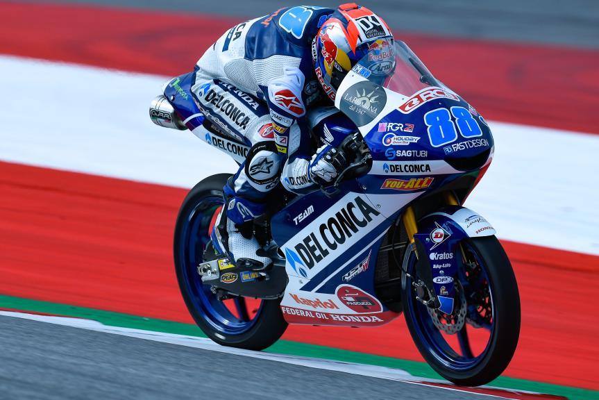 Jorge Martin, Del Conca Gresini Moto3, eyetime Motorrad Grand Prix von Österreich