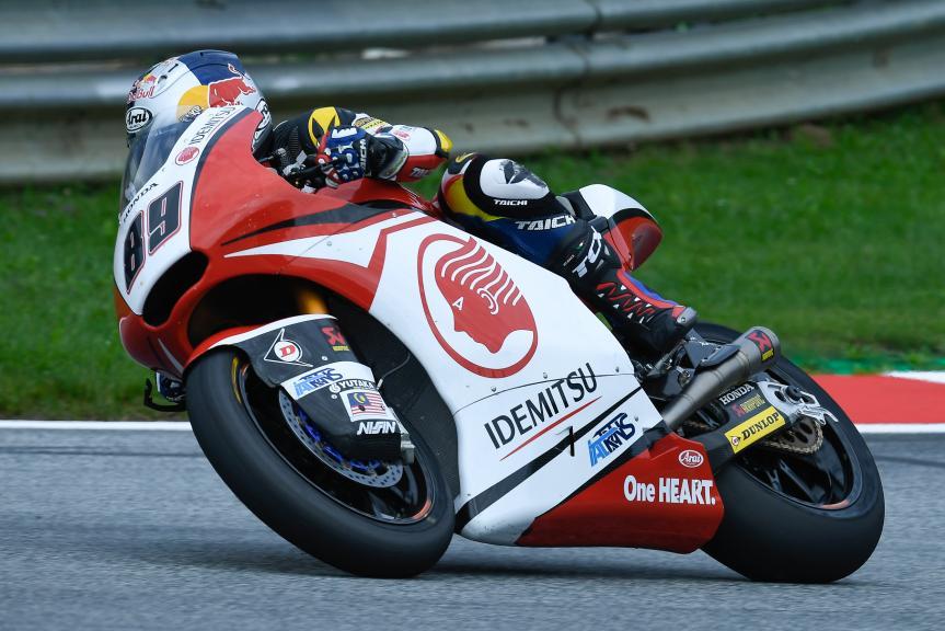 Khairul Idham Pawi, Idemitsu Honda Team Asia, eyetime Motorrad Grand Prix von Österreich