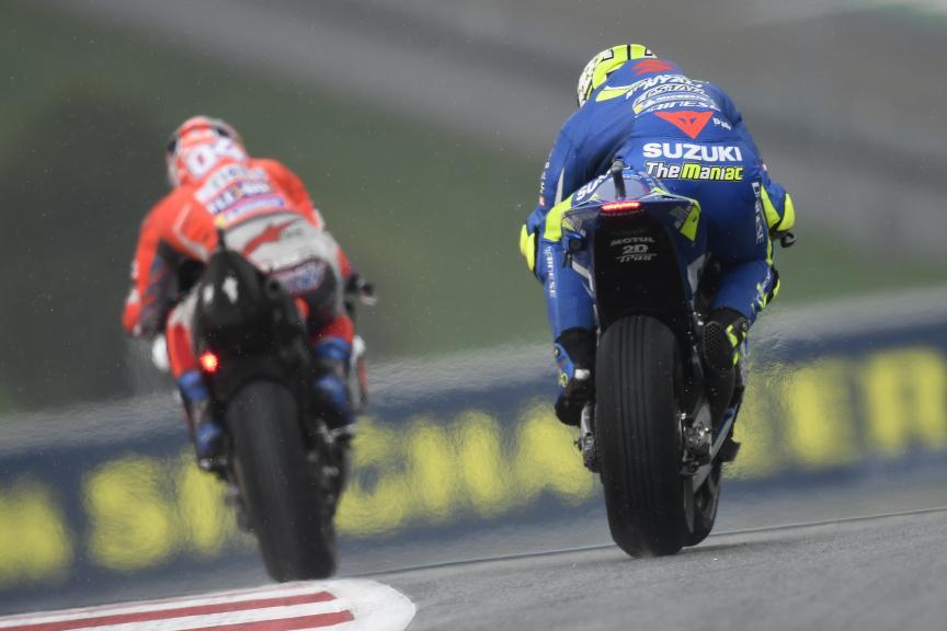 Andrea Iannone, Team Suzuki Ecstar, eyetime Motorrad Grand Prix von Österreich