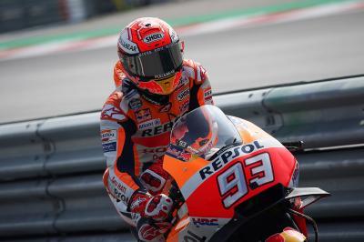 Márquez y las Ducati marcan territorio en la FP4