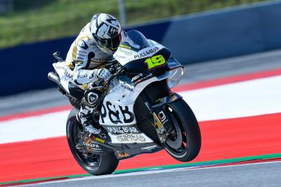 Bautista and Rins into Q2, Rossi out
