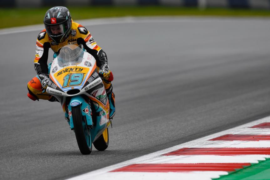 Gabriel Rodrigo, RBA BOE Skull Rider, eyetime Motorrad Grand Prix von Österreich