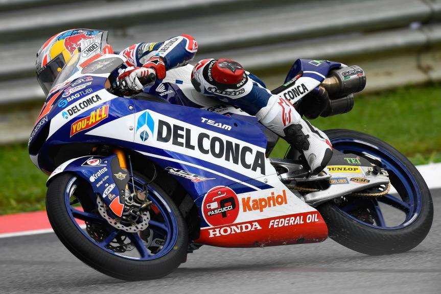 Fabio Di Giannantonio, Del Conca Gresini Moto3, eyetime Motorrad Grand Prix von Österreich