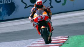 The Repsol Honda rider took his third pole of the season, thousands ahead of Dovizioso, with Lorenzo and Petrucci in hot pursuit