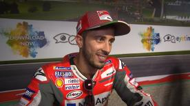 The Ducati rider missed out on pole by just 0.002 seconds, but says he's feeling strong at the Red Bull Ring
