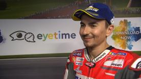 Finishing third in Q2 at the Red Bull Ring, Jorge Lorenzo feels like the team did enough work for the race
