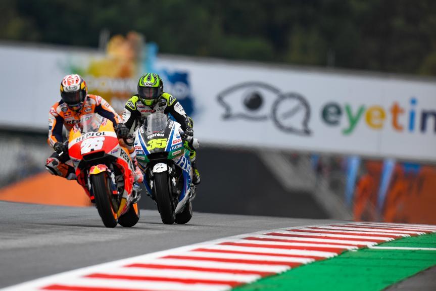 Dani Pedrosa, Repsol Honda Team, Cal Crutchlow, LCR Honda Castrol, eyetime Motorrad Grand Prix von Österreich