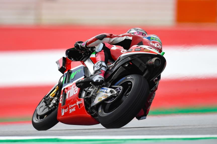 Aleix Espargaro, Aprilia Racing Team Gresini, eyetime Motorrad Grand Prix von Österreich