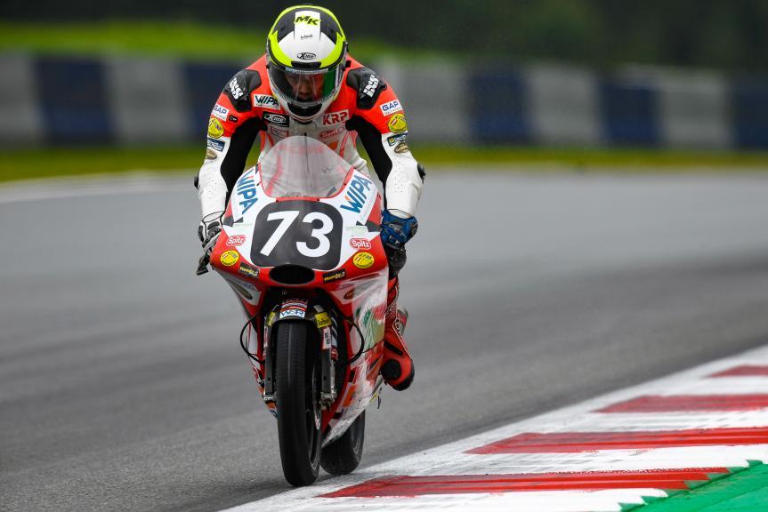 Max Kofler, KRP Team, eyetime Motorrad Grand Prix von Österreich