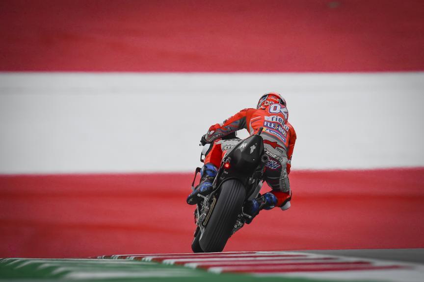 Andrea Dovizioso, Ducati Team, eyetime Motorrad Grand Prix von Österreich