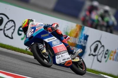 Bezzecchi sets the benchmark in damp FP3