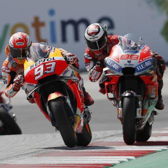 Lorenzo vs. Marquez: Packender Showdown in Spielberg
