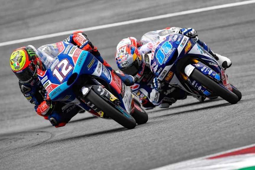 Marco Bezzecchi, Pruestelgp, eyetime Motorrad Grand Prix von Österreich
