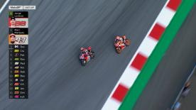 Jorge Lorenzo and Marc Marquez went head to head on the last lap of the Austrian GP