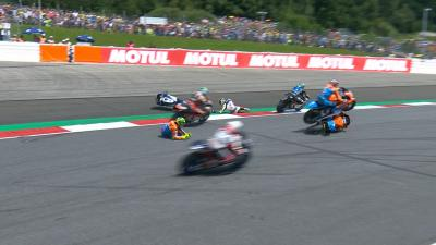 Free video: Multi rider crash in Moto2™!