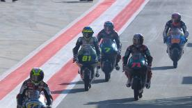 Watch the Moto3™ Warm Up session ahead of the main event at the Red Bull Ring