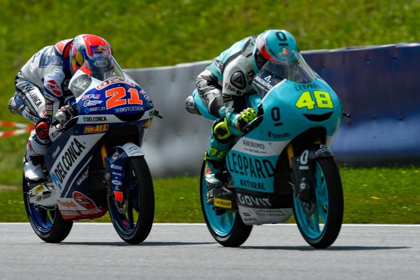 Moto3, eyetime Motorrad Grand Prix von Österreich