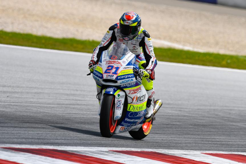 Federico Fuligni, Tasca Racing Scuderia Moto2, eyetime Motorrad Grand Prix von Österreich