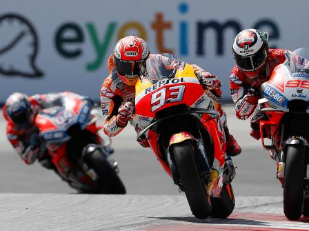 MotoGP, Race, eyetime Motorrad Grand Prix von Österreich