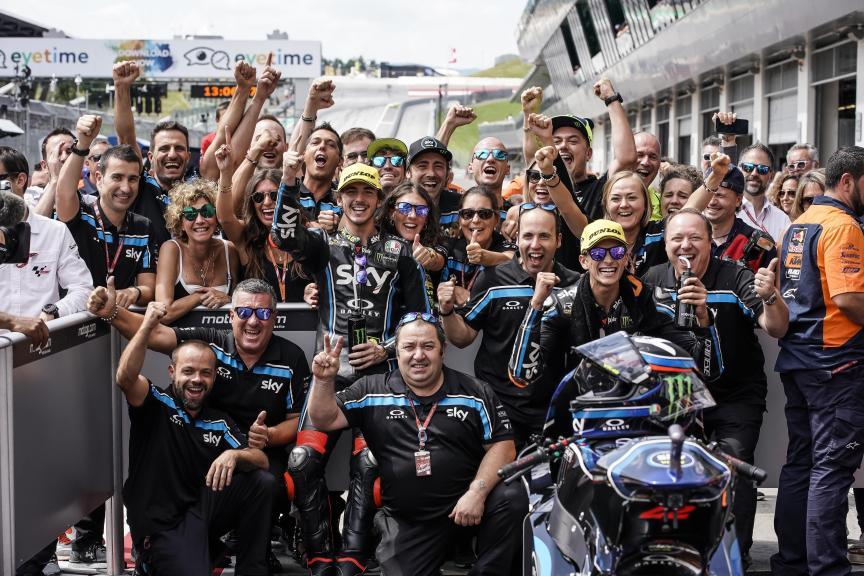 Francesco Bagnaia, Luca Marini, Sky Racing Team VR46, eyetime Motorrad Grand Prix von Österreich