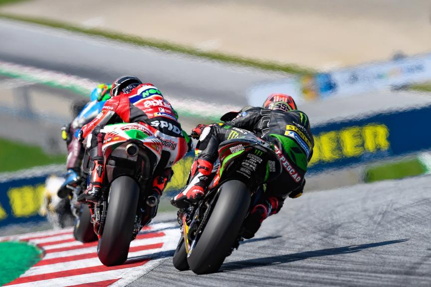Scott Redding, Hafizh Syahrin, eyetime Motorrad Grand Prix von Österreich