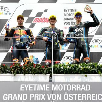 Bagnaia gewinnt Titanenkampf in Österreich